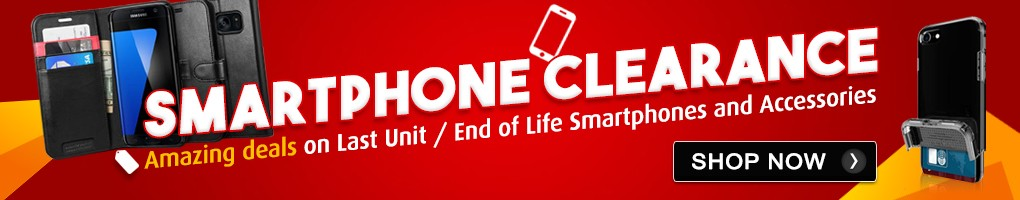 SMARTPHONE CLEARANCE: Amazing deals on Last Unit / End of Life Smartphones and Accessories