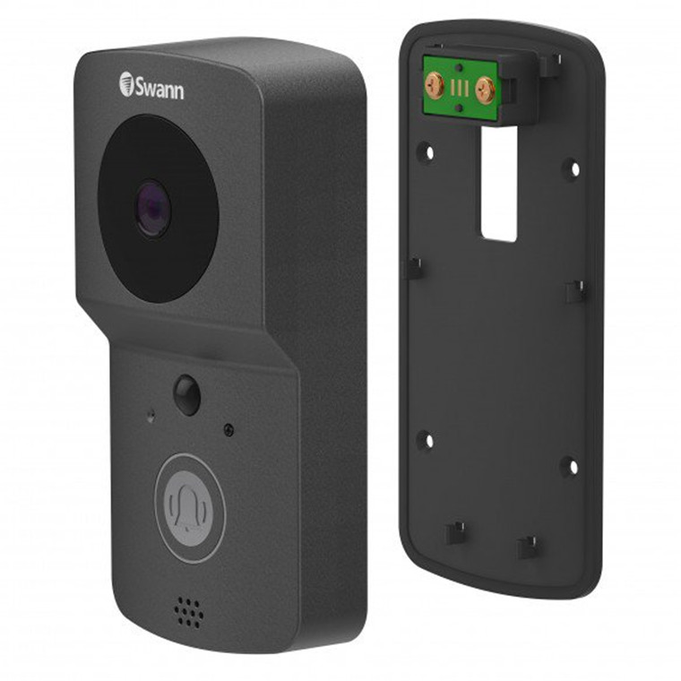Buy the Swann Wire-Free 720p HD Smart Video Doorbell Kit