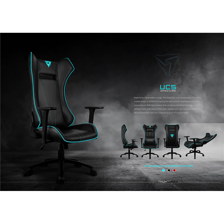 Amazing Buy The Thunderx3 Uc5 Gaming Chair Black Ch Aero Uc5 Bk Online Creativecarmelina Interior Chair Design Creativecarmelinacom