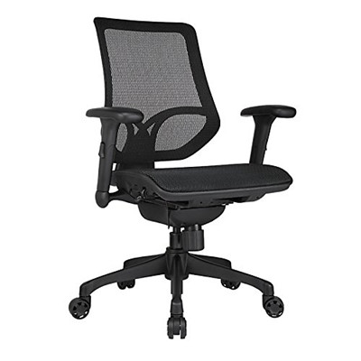 Buy The Workpro Tokyo Operator Chair Synchro Tilt Black Mesh