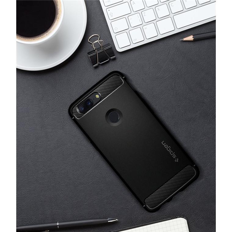 outlet store 683fa bdaf6 Buy the Spigen OnePlus 5T Rugged Armor Case Black,Premium Design,  Ultimate... ( K05CS22712 ) online