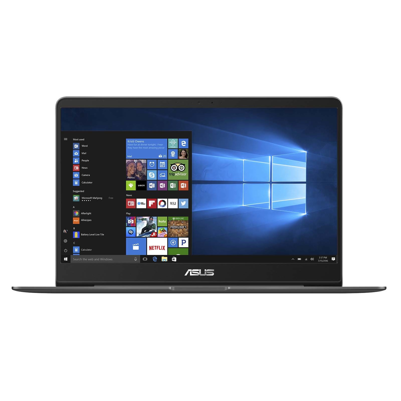 Buy the ASUS Last Demo Units Zenbook UX430UN-GV129T Premium Ultrabook in  Grey    ( UX430UN-GV129T ) online