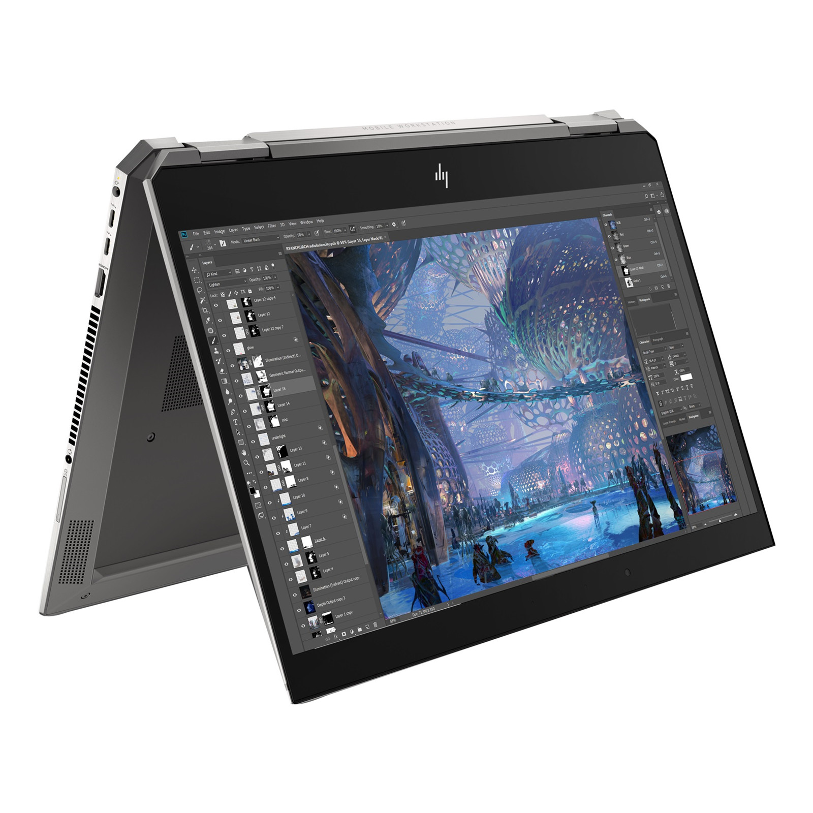 Buy the HP Zbook Studio x360 G5 Flip Mobile Workstation 15 6
