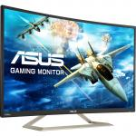 "ASUS VA326H 31.5"" Curved Gaming Monitor , 1920x1080 , 144hz , 4ms ,  HDMI+DVI+VGA , Speakers , 100x100mm VESA Mountable,"