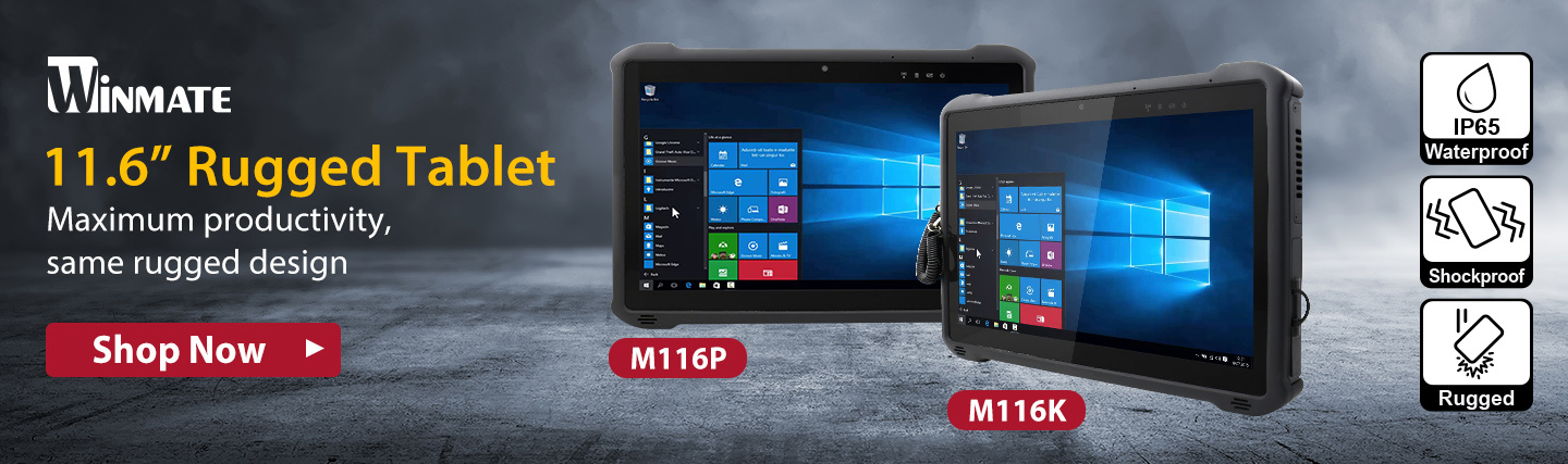 "11.6"" Rugged Tablet from Winmate at PB Tech"