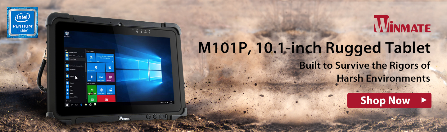 "10.1"" Rugged Tablet from Winmate at PB Tech"