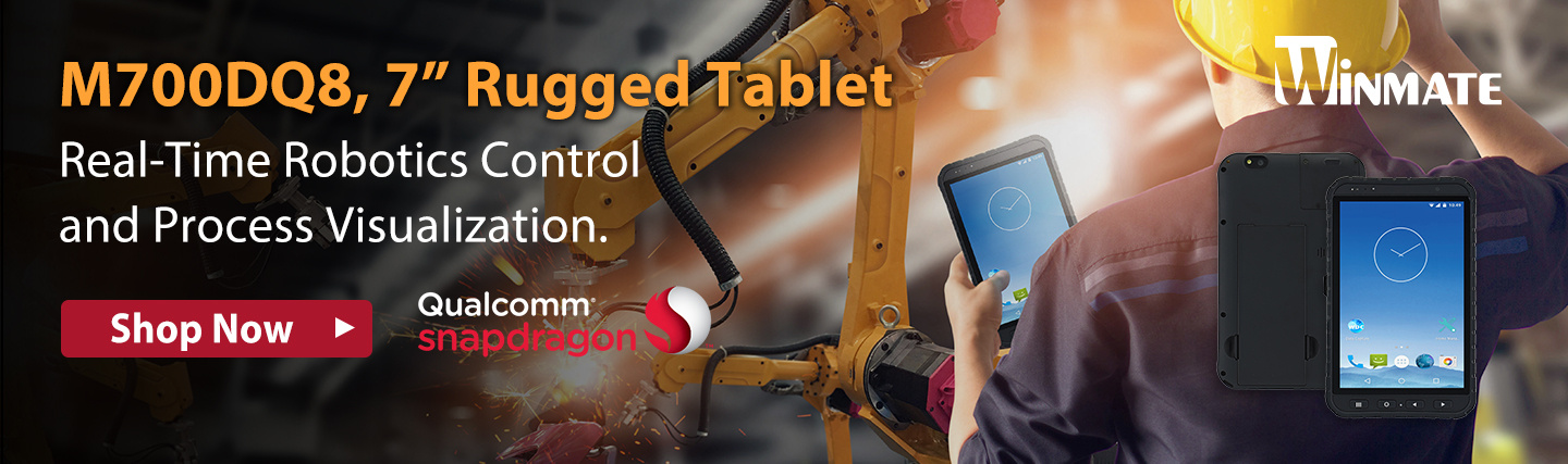 "7"" Rugged Tablet from Winmate at PB Tech"