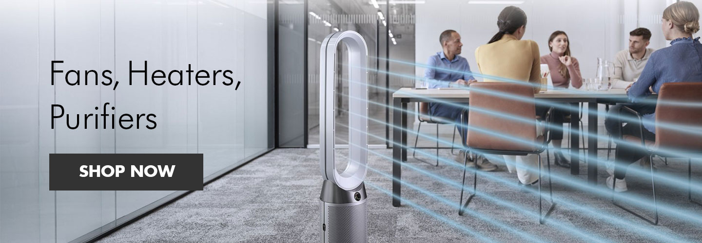 Dyson fans, heaters and purifiers at PB Tech