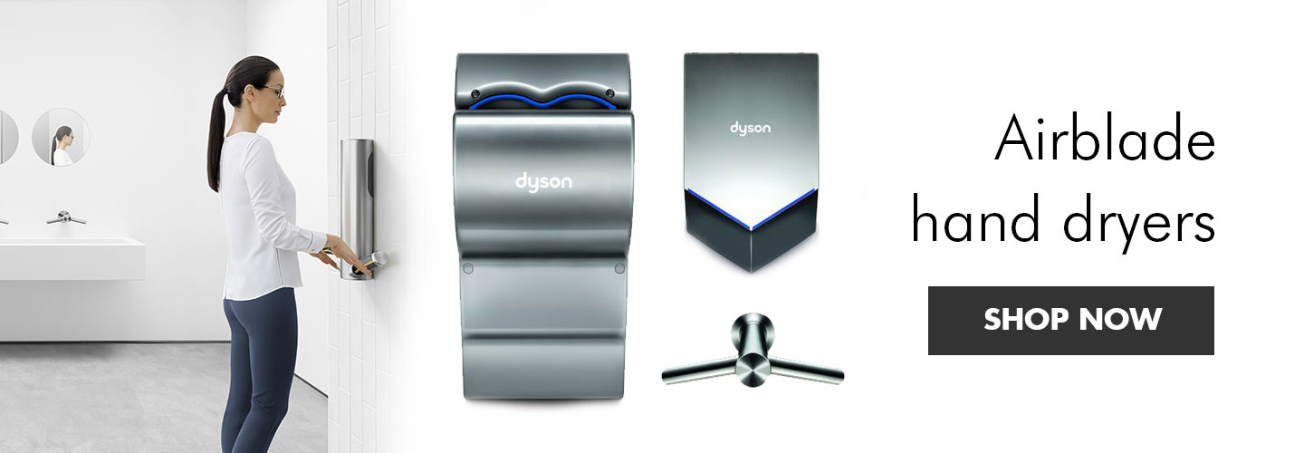 Dyson Airblade hand dryers at PB Tech