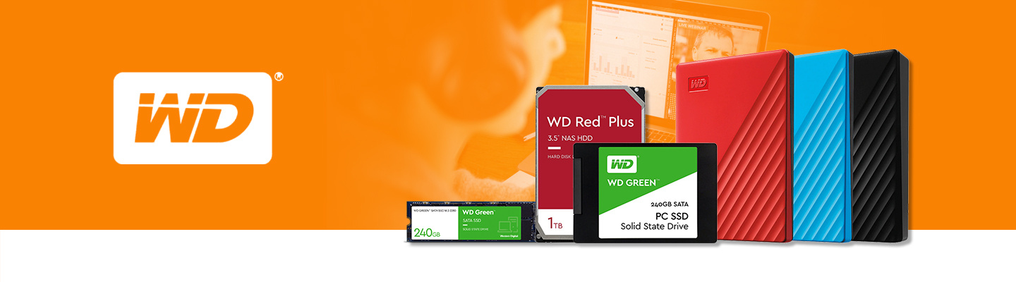 Shop WD Portable Hard Drives, Solid State Drives, Internal and External Digital Storage at PB Tech