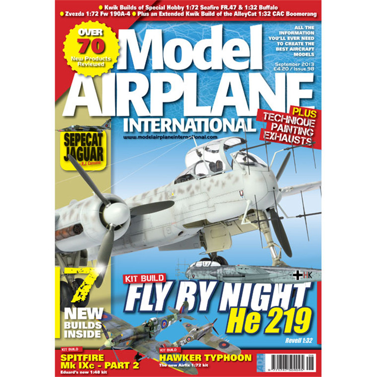 Buy the ADH Publishing Model Airplane Magazine - Issue #98