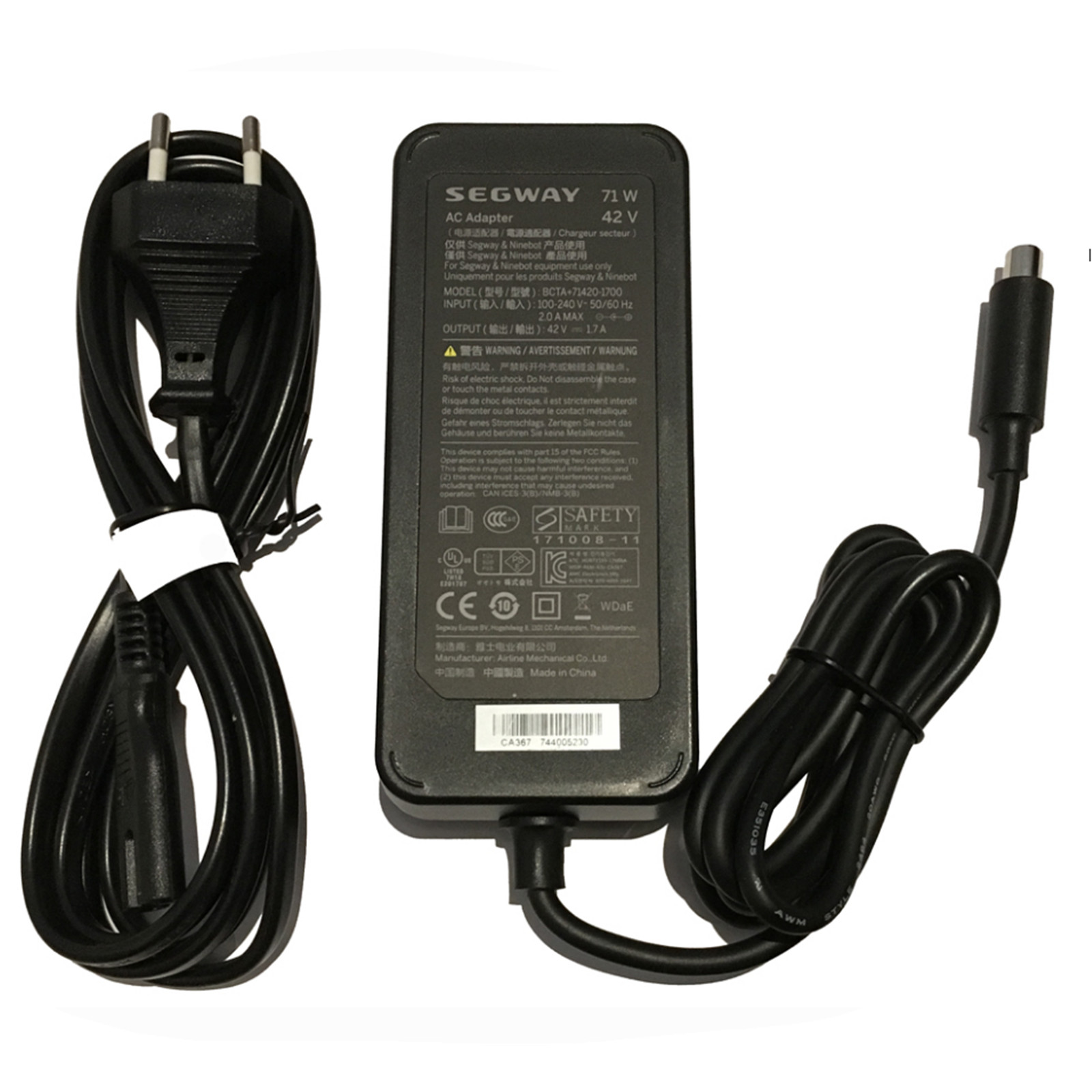 Buy the Segway ES1 / ES2 / ES4 Charger Assembly Power